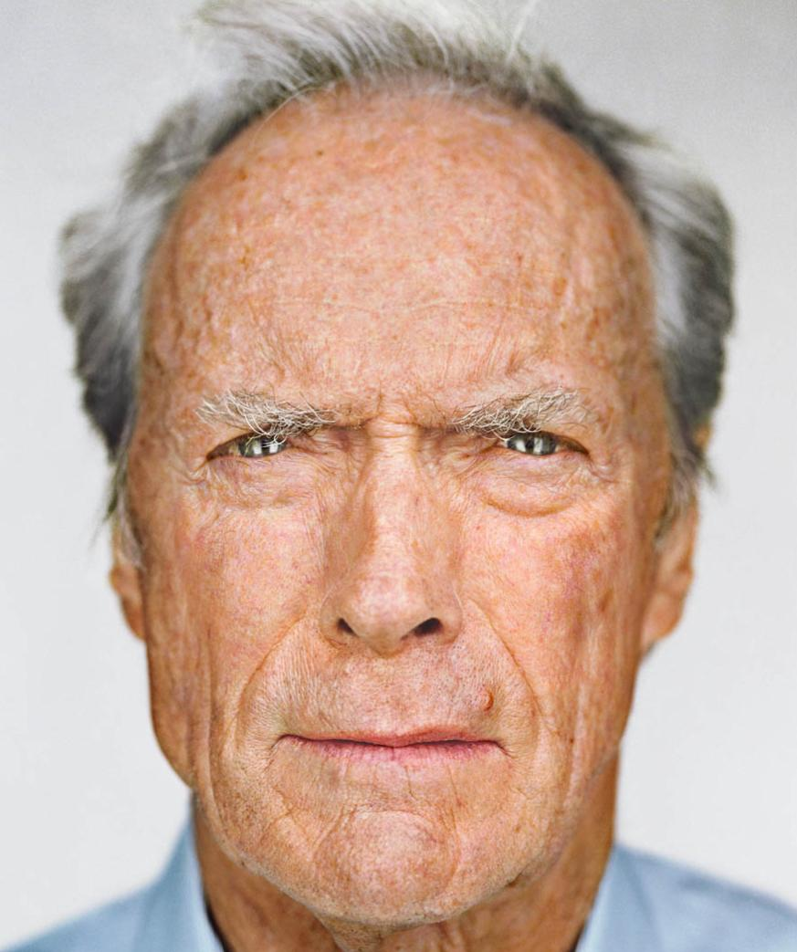 Martin schoeller clint eastwood portrait up close and personal